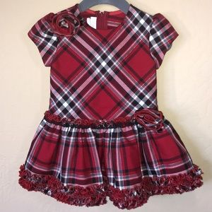 Plaid Fit and Flair Dress